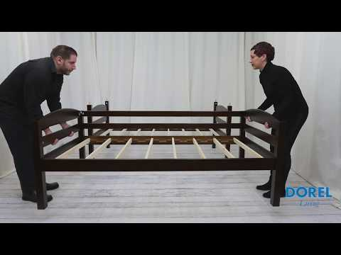 Twin over Twin Bunk Bed - Assembly Video
