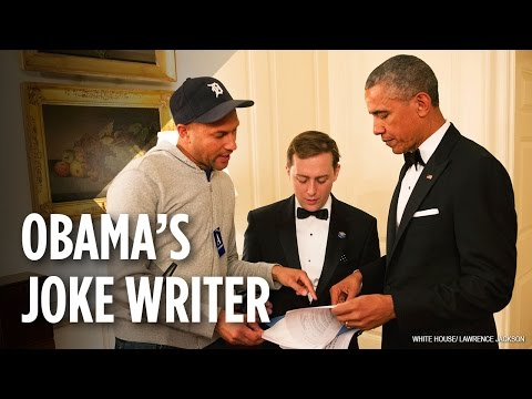 Meet the Speechwriter Behind Obama's Best Jokes