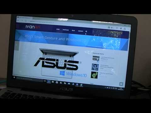 Asus laptop touchpad disabled after Windows 10 upgrade