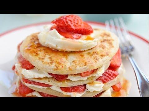 Strawberry Scotch pancake recipe