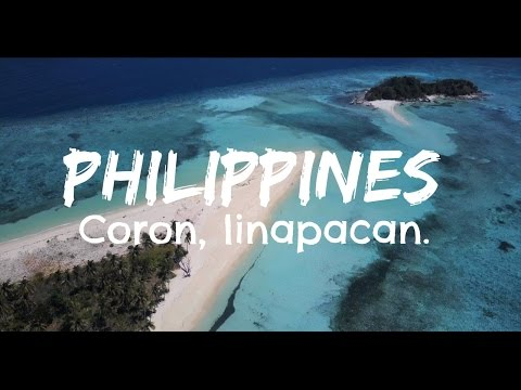 Most beautiful island in the world, Philippines coron, Palawan. (clearest waters in the world)