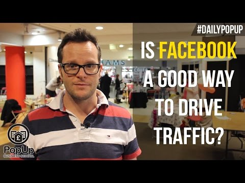 Is Facebook a Good Way to Drive Traffic?│The Daily Popup #96