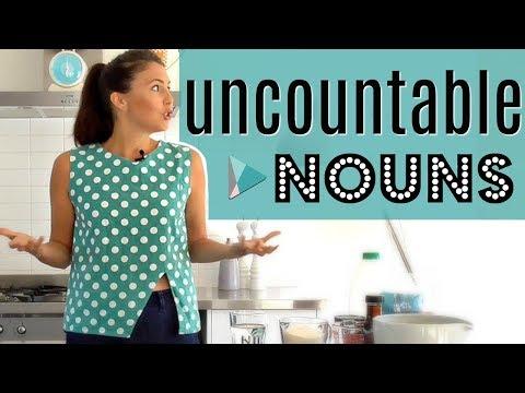Uncountable English Nouns | Fix Common Grammar Mistakes & Errors