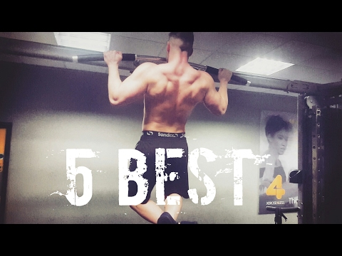 Top 5 Best exercises to do for an aesthetic physique