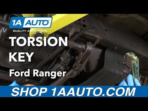 How to Replace Torsion Key 98-12 Ford Ranger