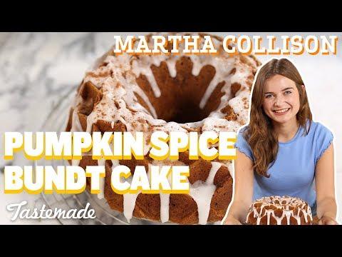 Pumpkin Spice Bundt Cake I Martha Collison