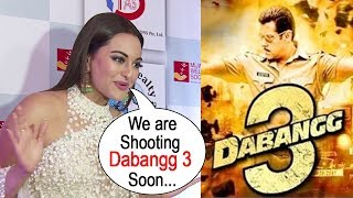 Sonakshi Sinha's Reaction on Salman Khan's Dabangg 3