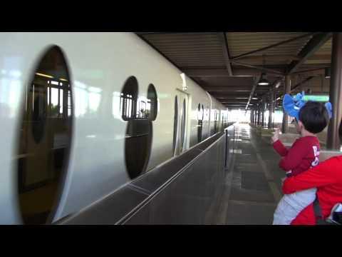 Bye Bye to the Tokyo Disney Resort Line at Tokyo Disneysea Station