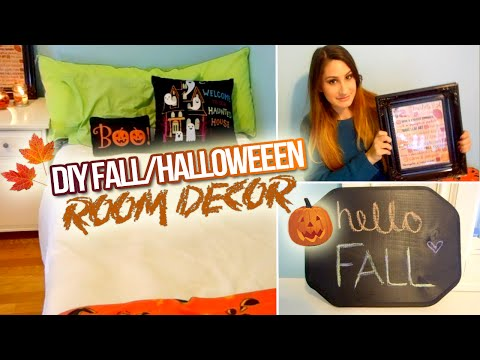 DIY Fall/Halloween Room Decor 2014!