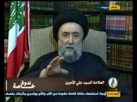 العلاّمة السيد علي الأمين - الوضع على الساحة العراقية والفتن التي تحاك للمنطقة