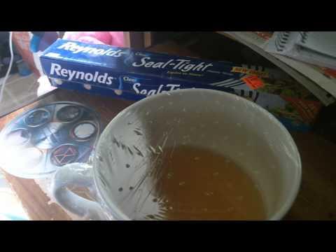 2015 9 10 UnBoxing Gnat Trap = Cheap, Easy, Effective Apple Cider Vinegar + Dish Soap