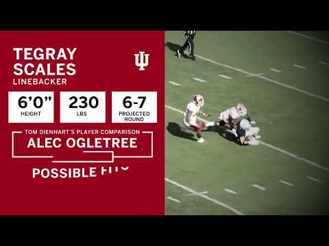 2018 NFL Draft - Tegray Scales