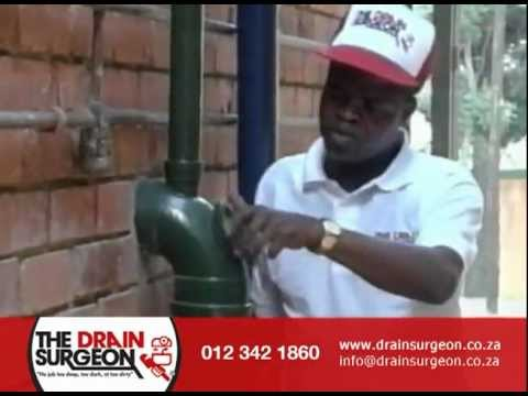 How to unblock soil pipes