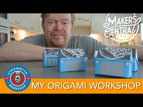 My Origami Workshop | Makers Central Announcement