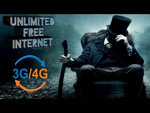 How to use free Internet 2g or 3G or 4G 2017 latest trick.....