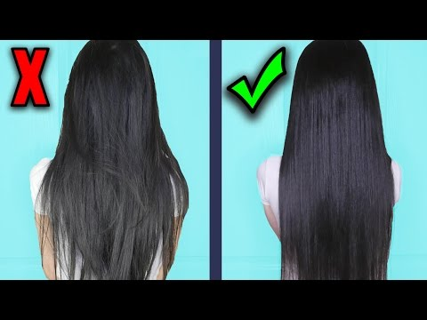 Get Super Silky & Glossy Hair in 1 Day | DIY Hair Mask  - Deep Conditioner