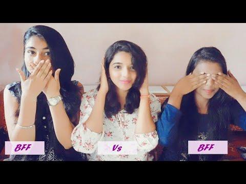 Best Friend Vs Best Friend Challange | Who knows me better!! + Bloopers