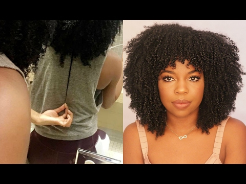 Blissful Lengths Liquid Hair Growth Vitamin : first impression, length check and taste test