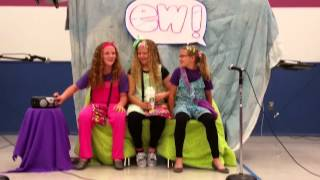 """WARNING: you will be repeating this over and over. Continuing their love for Jimmy Fallon for the 2nd year in a row: Act 2: Janey, Mary, and Sammie in Ew! See Act1 """"Tight Pants"""" : https://youtu.be/tjdFJ8WM7x0  Gary, played by the janitor at their school, picture was also included in the speed round. lol"""