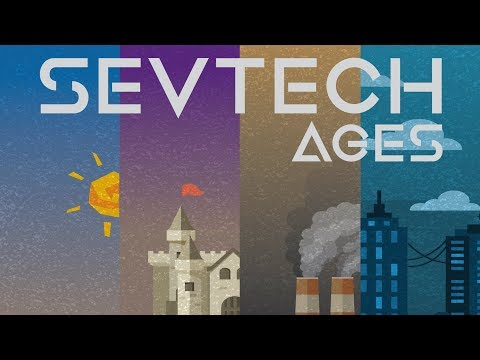 SevTech Ages #1 - Getting Started - Resources and Tool Crafting