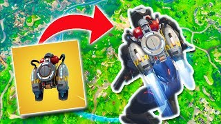 JETPACK FROM MAX HEIGHT! | Fortnite Battle Royale