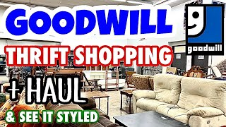 HOME DECOR THRIFT SHOPPING AT GOODWILL * GOODWILL THRIFT HAUL * DECOR IDEAS * FUN ANNOUNCEMENT *
