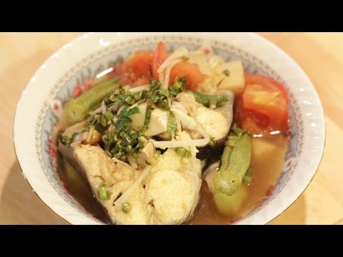 How to Make Vietnamese Sweet and Sour Fish Soup - Canh Chua Ca