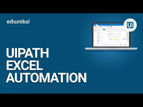 UiPath Excel Automation | UiPath Excel Activities | UiPath Training Essentials | Edureka