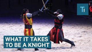 What it takes to be a knight at Medieval Times
