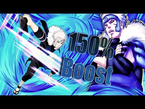 ** EDO TOBIRAMA 150% ATTACK BOOST  ** | ** Naruto Ultimate Ninja Blazing *