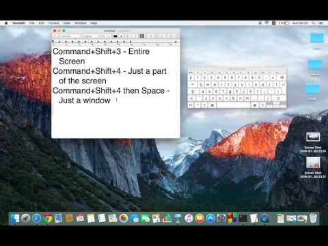 How to screenshot on Mac OS X - Take a Screenshot (Screen Capture/Print Screen)