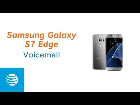 How To Access Visual Voicemail on the Samsung Galaxy S7 Edge | AT&T
