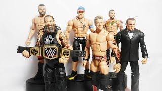 WWE Elite 2017 Chris Jericho - Bray Wyatt - Sting - Cena | CUSTOM MATTEL ELITE WWE FIGURES
