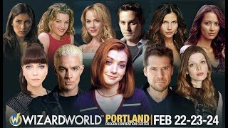 2019 Wizard World Comicon - Buffy the Vampire Slayer panel audio, some video