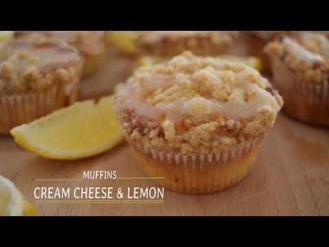 Cream Cheese & Lemon Muffins | Go Delicious