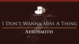 4 38 MB] Download Aerosmith - I Don't Wanna Miss A Thing