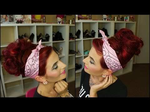 Hair Tutorial: Messy Bun For Pixie Cuts!!!