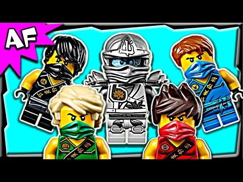 Lego Ninjago Minifigures 2015 Zukin & Tournament Outfits Winter Collection