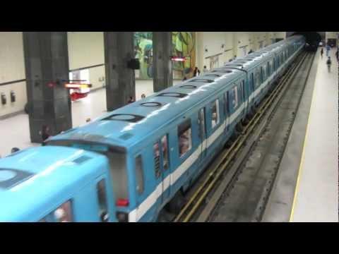 Metro in Montreal, Quebec, Canada