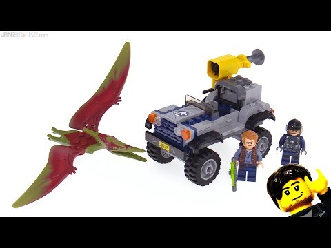 LEGO Jurassic World Pteranodon Chase review! 75926