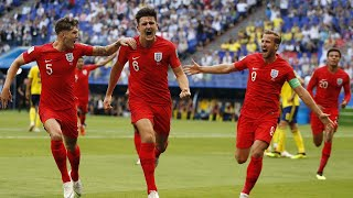 England and Croatia book their spots in the World Cup semi-final
