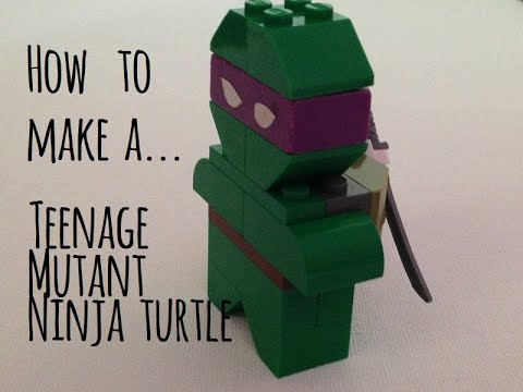 How to make a teenage ninja turtle out of legos!