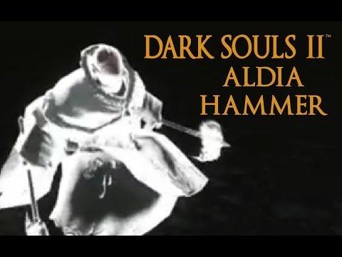 Dark Souls 2 Aldia Hammer Tutorial (dual wielding w/ power stance)