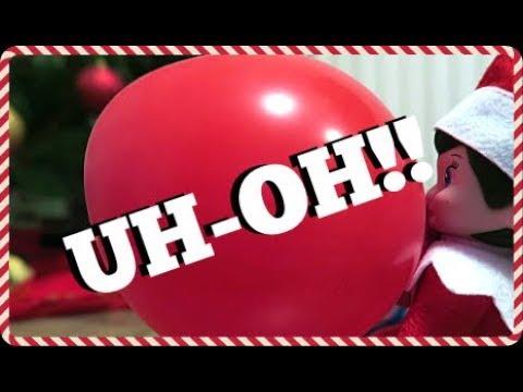 UH-OH SPARKLE!! | ELF ON THE SHELF | VLOGMAS