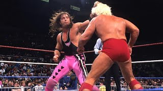 Ric Flair vs Bret Hart PT 2 10/12/92