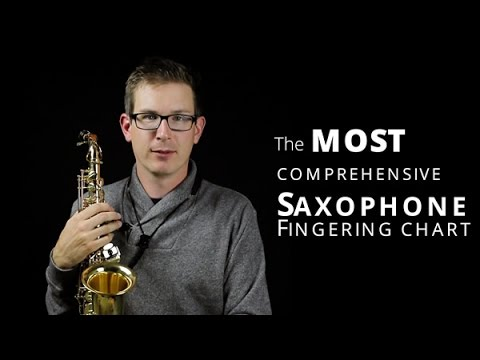 Saxophone Finger Chart: Complete guide to playing saxophone notes