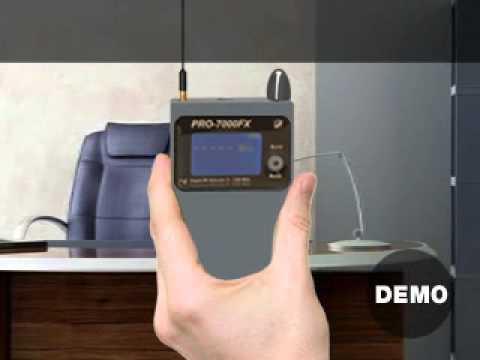 Pro7000FX RF Bug Detector