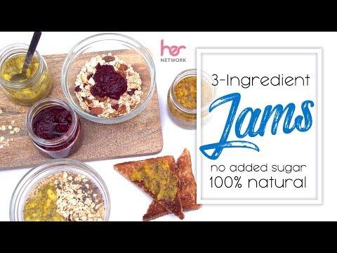 3-Ingredient Homemade Jams (100% Natural, No Added Sugar) | Joanna Soh