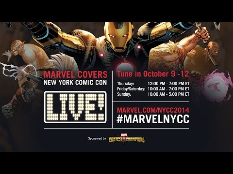 Marvel LIVE! at New York Comic Con 2014- Day 1