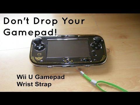 Wii U Gamepad Wrist Strap - Protect your Gamepad!